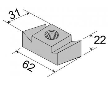 gewindeplatten 72 48. Black Bedroom Furniture Sets. Home Design Ideas