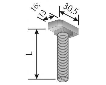 hammerkopfschraube 38 17. Black Bedroom Furniture Sets. Home Design Ideas