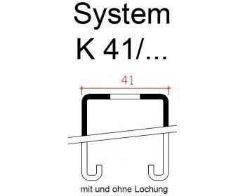 montageschiene system 41. Black Bedroom Furniture Sets. Home Design Ideas